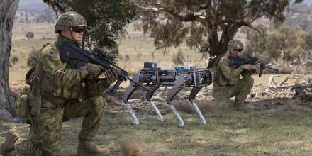 Soldiers are exploring the use of robotic and autonomous systems to enhance Army capabilities in the field. Photo: Corporal Tristan Kennedy