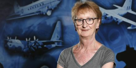 Annie Goldsack is a supply chain manager at RAAF Base Amberley. Photo: Corporal Colin Dadd