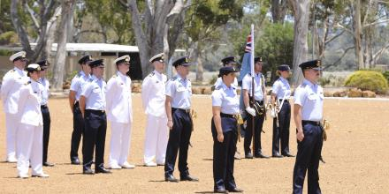 Students of No. 260 PC-21 Pilots' Course graduate at RAAF Base Pearce. Photo: Chris Kershaw Photography
